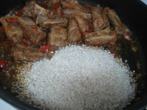 5 300x225 Arroz con Costillas Adobadas