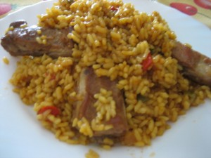 IMG 7186 300x225 Arroz con Costillas Adobadas