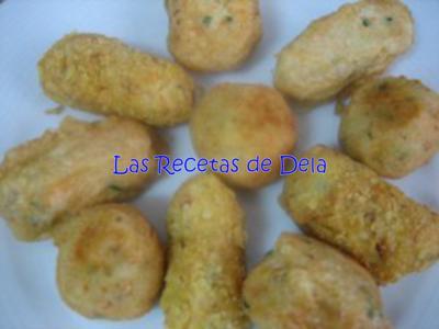 Croquetas De Patata Y Salmón Las Recetas De Dela