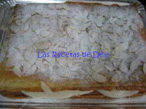 10 Hojaldre Relleno de Crema de Horchata