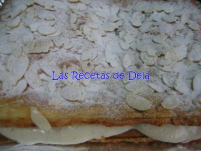 111 Hojaldre Relleno de Crema de Horchata