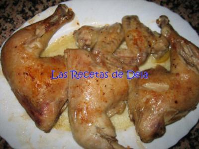 Pollo Asado en Cuartos en Bolsas para Asar | Las recetas de Dela